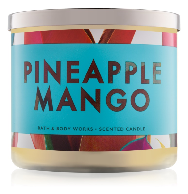 Bath & Body Works Pineapple Mango vonná sviečka 411 g