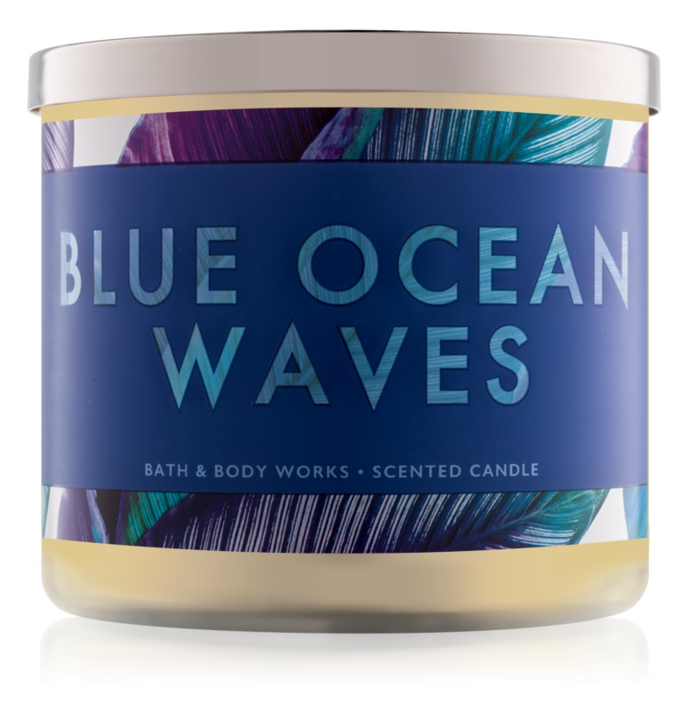 Bath & Body Works Blue Ocean Waves Duftkerze  411 g