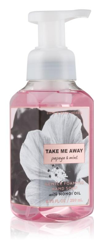 Bath & Body Works Papaya & Mint Schaumseife zur Handpflege