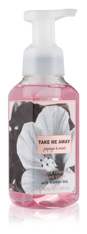 Bath & Body Works Papaya & Mint мило-піна для рук