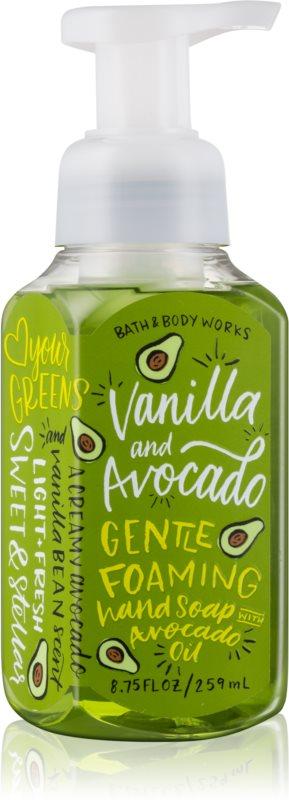 Bath & Body Works Vanilla & Avocado savon moussant pour les mains