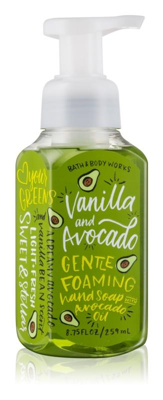 Bath & Body Works Vanilla & Avocado schiuma detergente mani