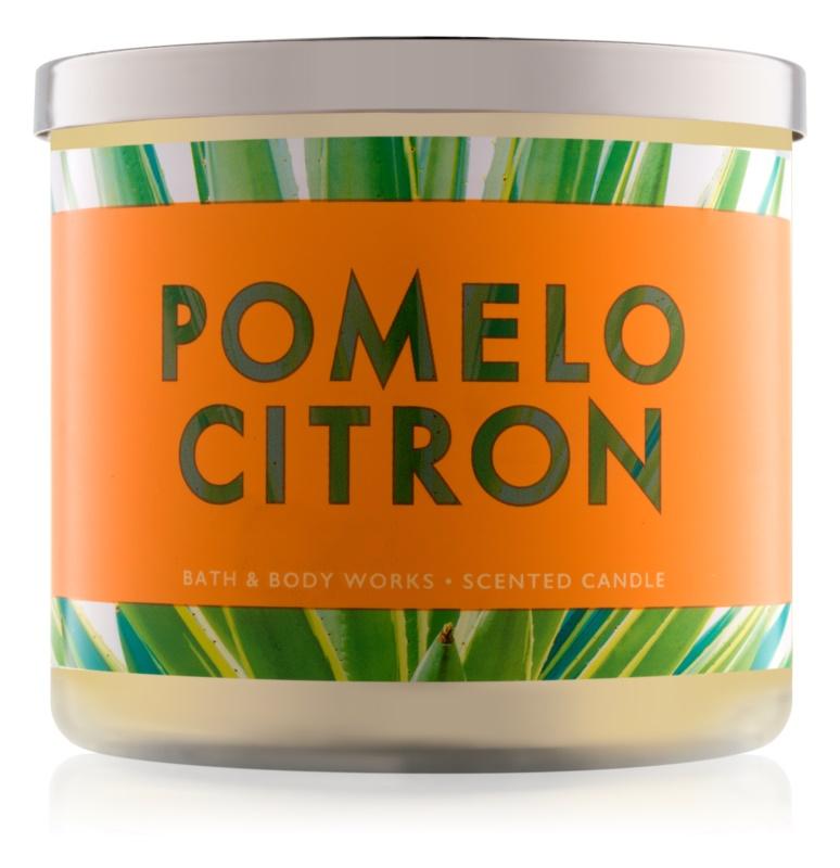 Bath & Body Works Pomelo Citron świeczka zapachowa  411 g