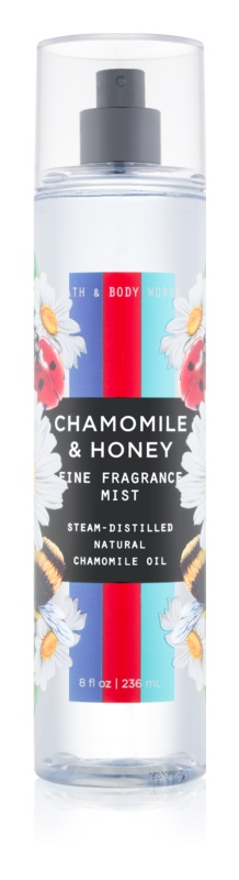 Bath & Body Works Chamomile & Honey Bodyspray  voor Vrouwen  236 ml