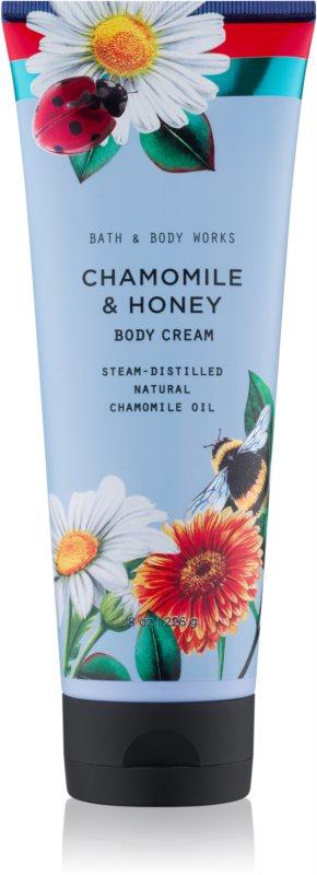 Bath & Body Works Chamomile & Honey crème corps pour femme 226 g