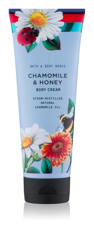 Bath & Body Works Chamomile & Honey tělový krém pro ženy 226 g