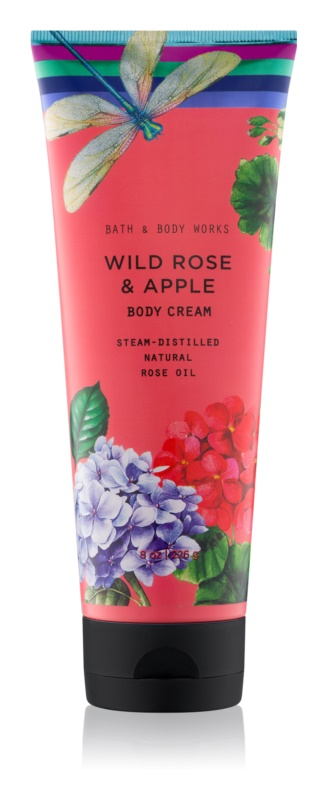 Bath & Body Works Wild Rose & Apple Body Cream for Women 226 g