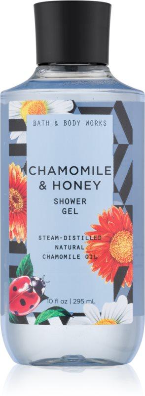 Bath & Body Works Chamomile & Honey sprchový gél pre ženy 295 ml
