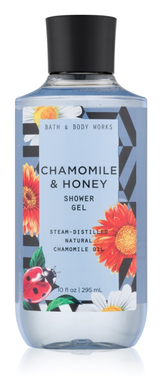 Bath & Body Works Chamomile & Honey sprchový gel pro ženy 295 ml