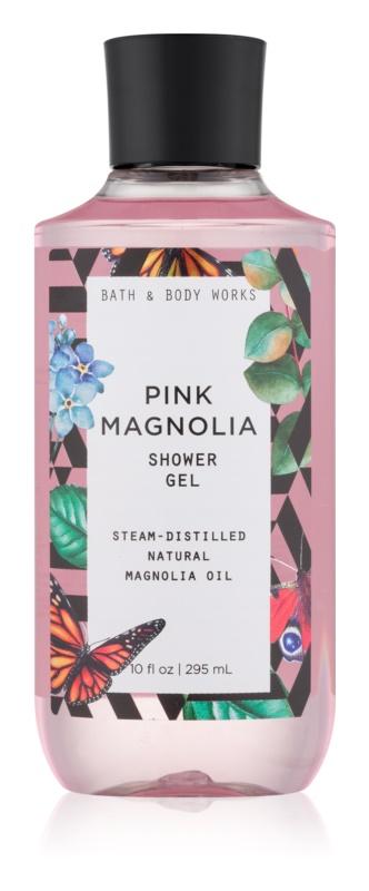Bath & Body Works Pink Magnolia sprchový gel pro ženy 295 ml