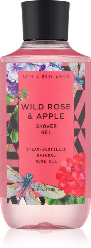Bath & Body Works Wild Rose & Apple Shower Gel for Women 295 ml