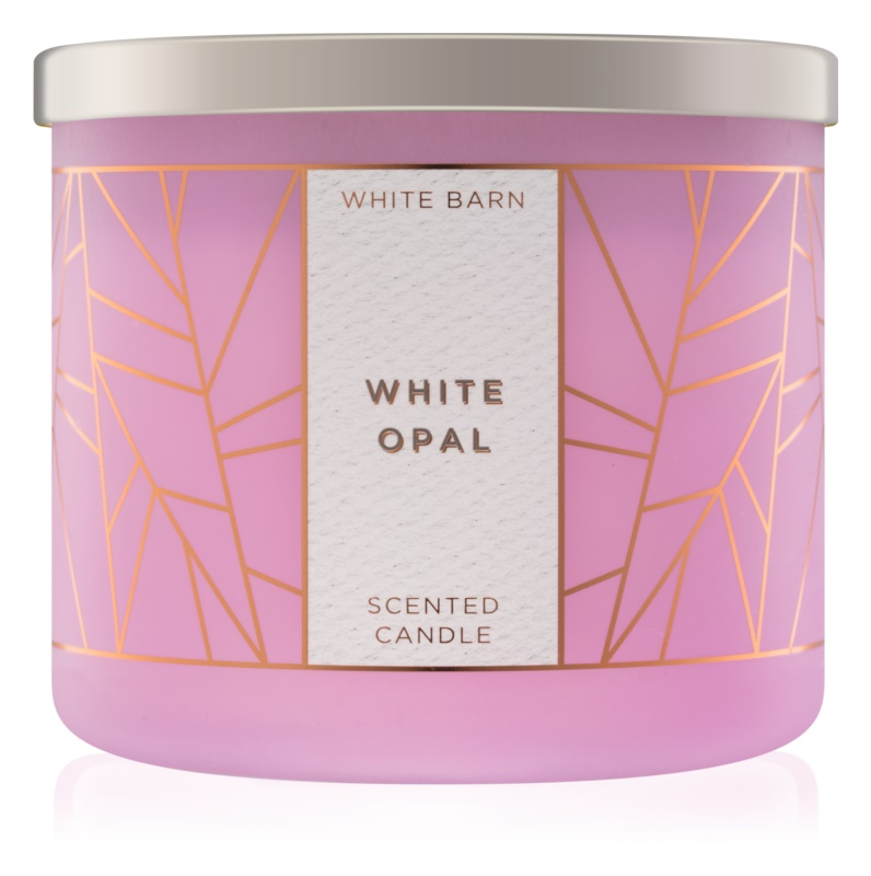 Bath & Body Works White Opal Geurkaars 411 gr