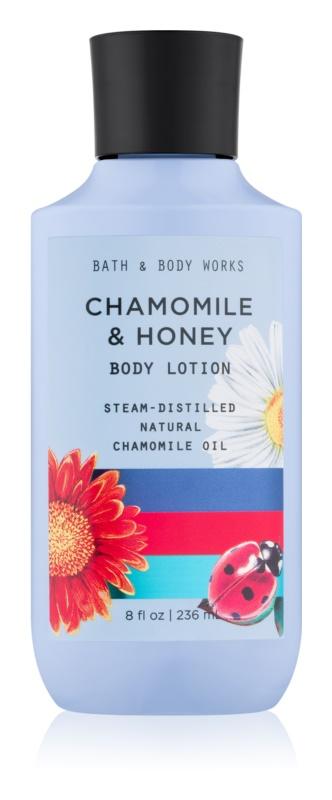 Bath & Body Works Chamomile & Honey tělové mléko pro ženy 236 ml