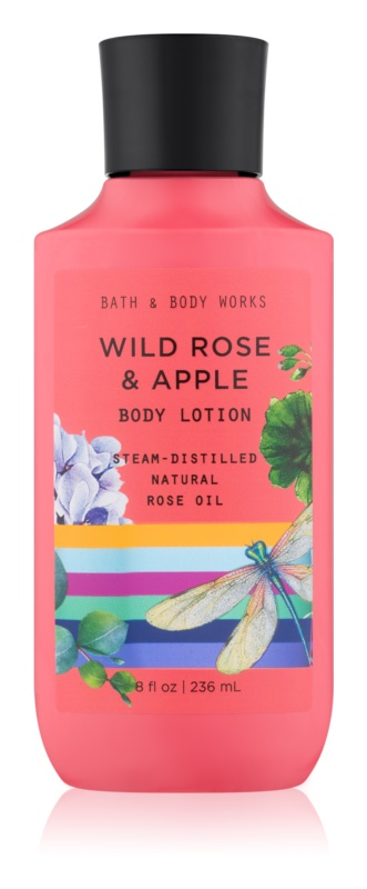 Bath & Body Works Wild Rose & Apple Bodylotion  voor Vrouwen  236 ml