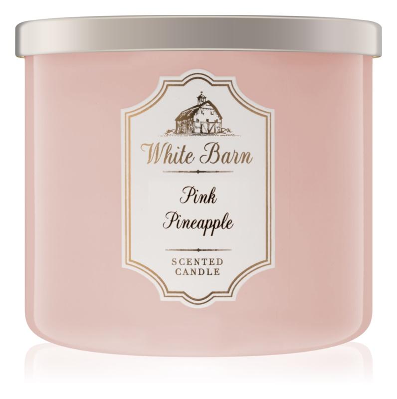 Bath & Body Works Pink Pineapple Duftkerze  411 g