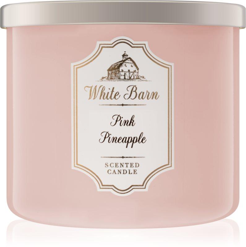 Bath & Body Works Pink Pineapple vonná svíčka 411 g