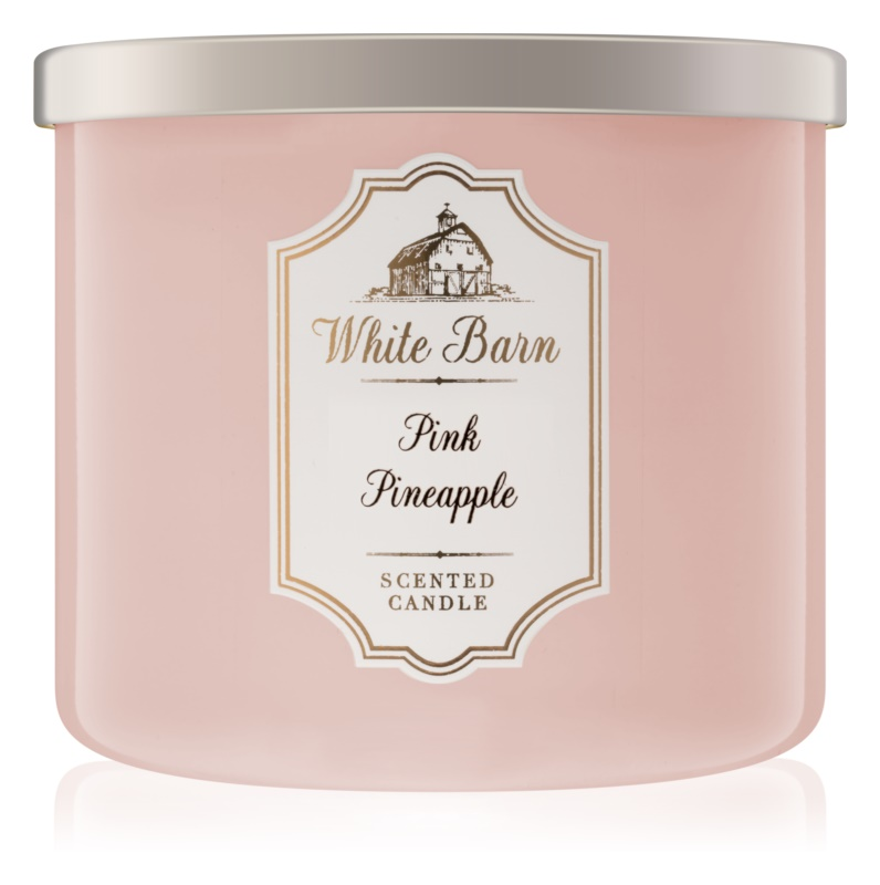 Bath & Body Works Pink Pineapple vonná sviečka 411 g