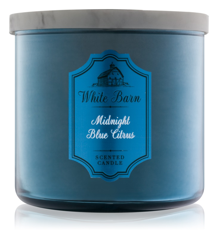 Bath & Body Works Midnight Blue Citrus vonná svíčka 411 g
