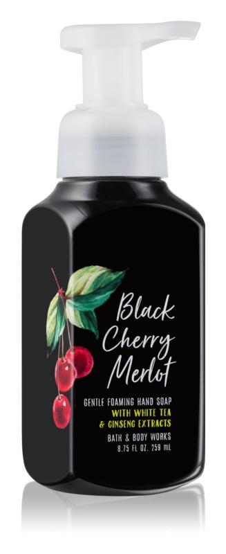 Bath & Body Works Black Cherry Merlot pěnové mýdlo na ruce