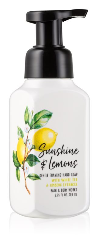 Bath & Body Works Sunshine & Lemons savon moussant pour les mains