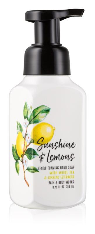 Bath & Body Works Sunshine & Lemons Schaumseife zur Handpflege