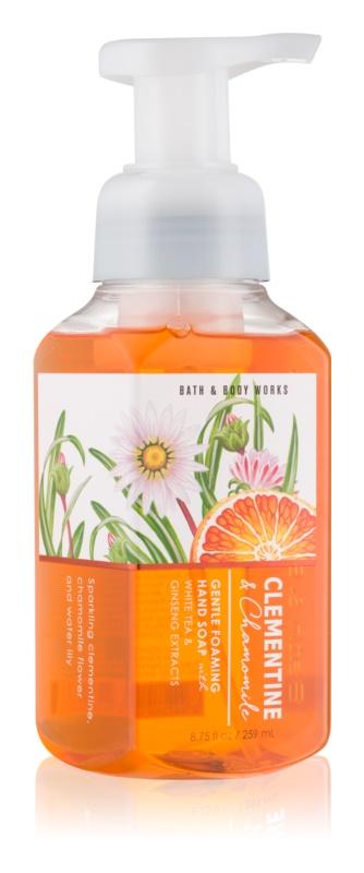 Bath & Body Works Clementine & Chamomile mydło w piance do rąk