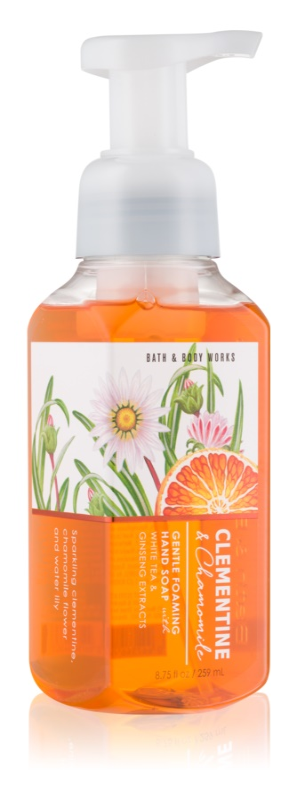 Bath & Body Works Clementine & Chamomile pěnové mýdlo na ruce