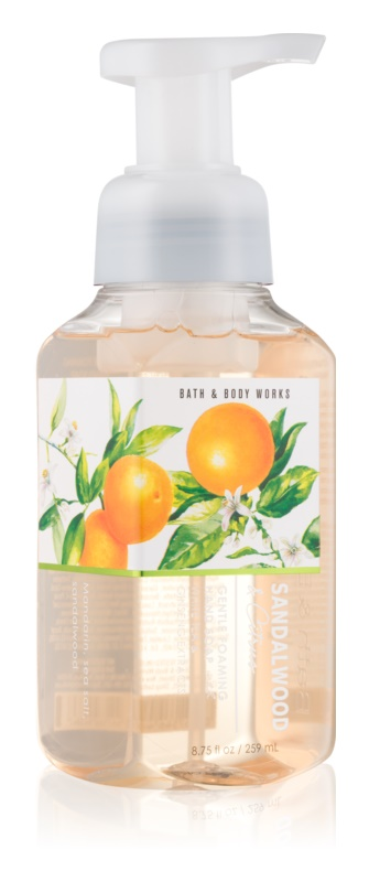 Bath & Body Works Sandalwood & Citrus penové mydlo na ruky