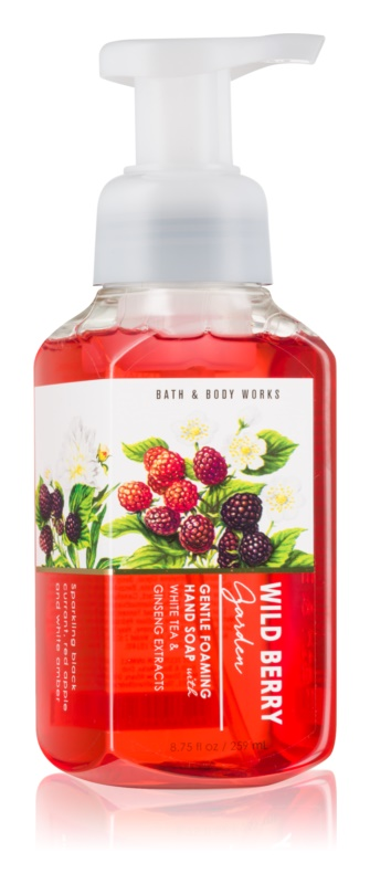 Bath & Body Works Wild Berry Garden Sapun spuma pentru maini