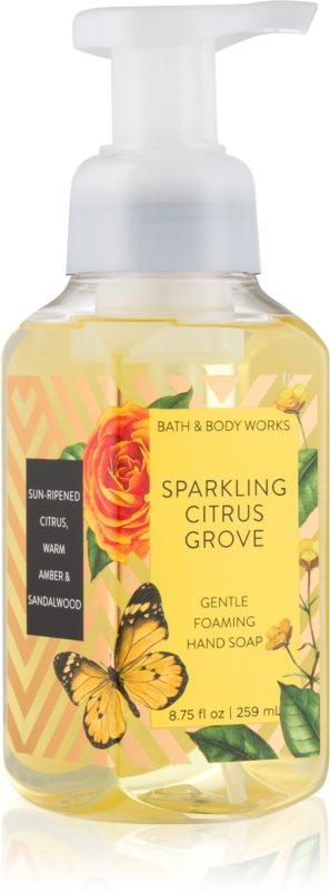Bath & Body Works Sparkling Citrus Groove mydło w piance do rąk