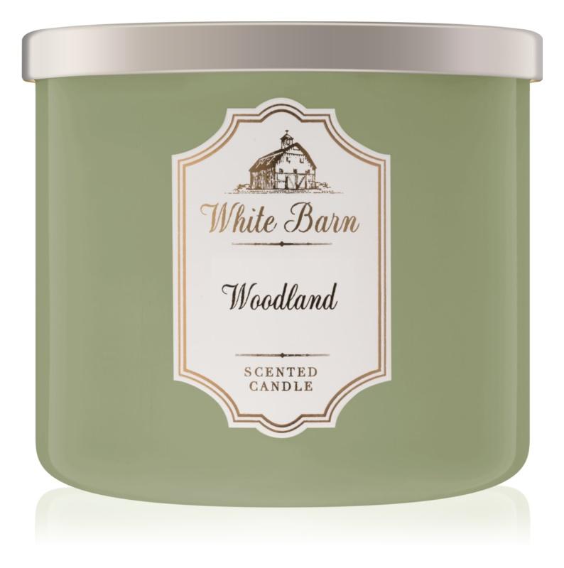 Bath & Body Works Woodland vonná svíčka 411 g
