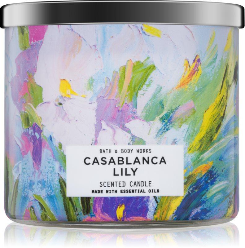 Bath & Body Works Casablanca Lily illatos gyertya  411 g