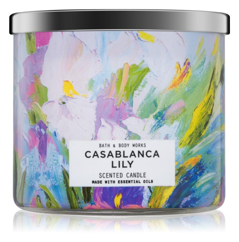 Bath & Body Works Casablanca Lily vonná svíčka 411 g