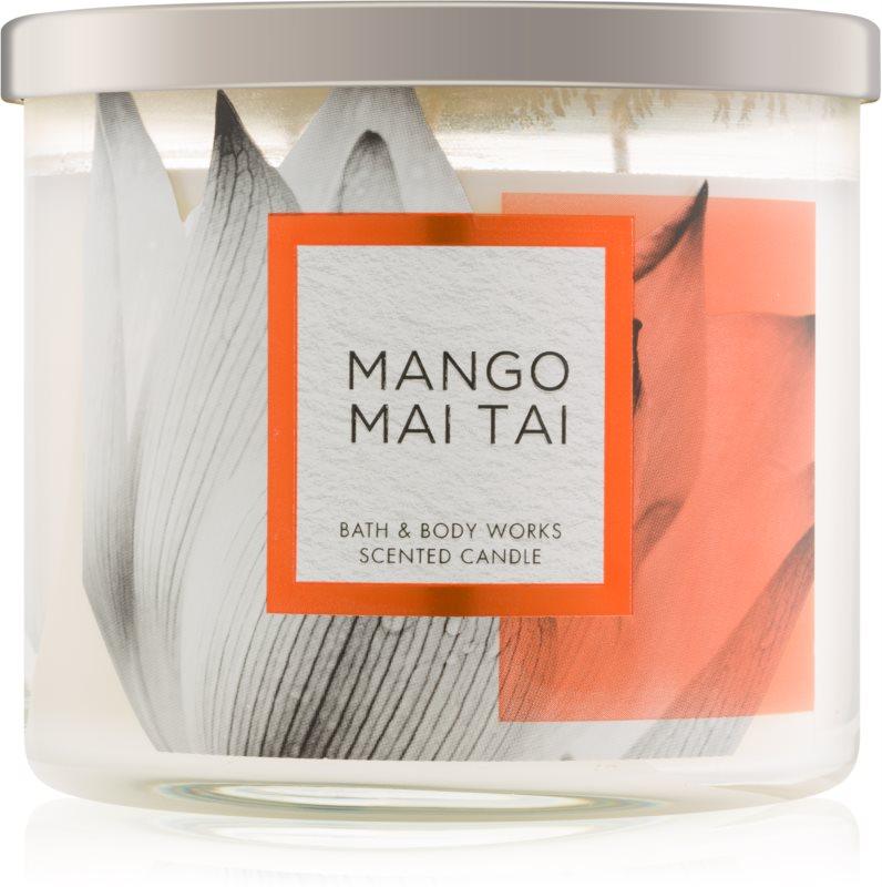 Bath & Body Works Mango Mai Tai ароматизована свічка  411 гр