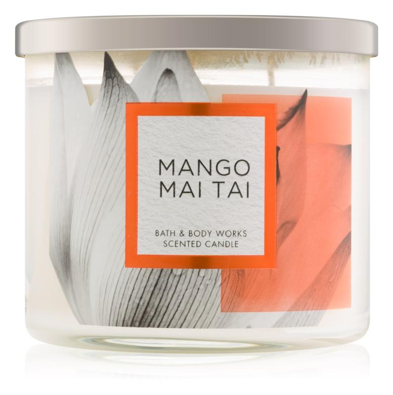 Bath & Body Works Mango Mai Tai vonná svíčka 411 g
