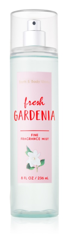 Bath & Body Works Fresh Gardenia Bodyspray  voor Vrouwen  236 ml