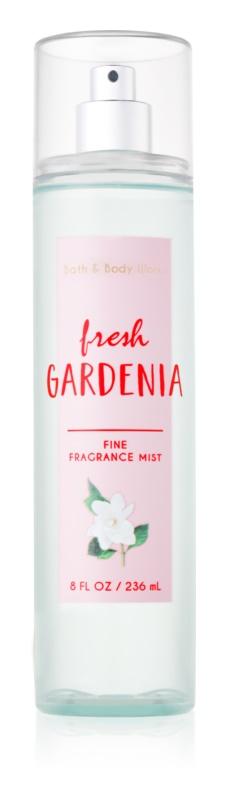 Bath & Body Works Fresh Gardenia tělový sprej pro ženy 236 ml