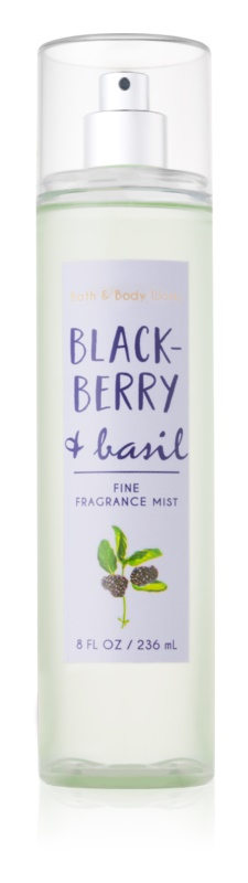 Bath & Body Works Blackberry & Basil Bodyspray  voor Vrouwen  236 ml