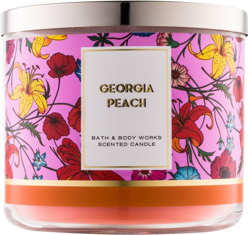 Bath & Body Works Georgia Peach dišeča sveča  411 g