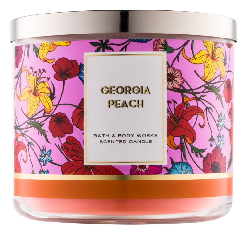Bath & Body Works Georgia Peach Duftkerze  411 g