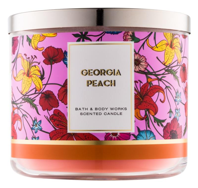 Bath & Body Works Georgia Peach vonná svíčka 411 g