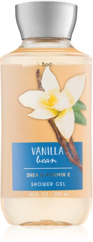 Bath & Body Works Vanilla Bean sprchový gel pro ženy 295 ml