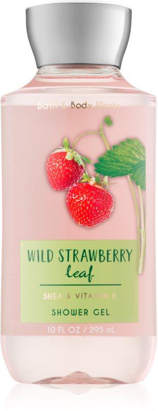 Bath & Body Works Wild Strawberry Leaf gel za prhanje za ženske 295 ml