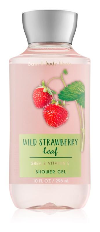 Bath & Body Works Wild Strawberry Leaf sprchový gel pro ženy 295 ml