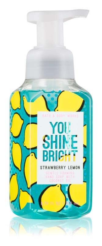 Bath & Body Works Strawberry Lemon Schaumseife zur Handpflege