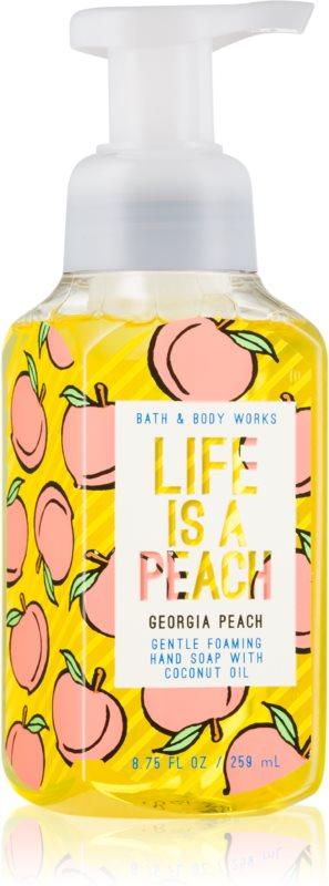 Bath & Body Works Georgia Peach Life is a Peach savon liquide mains