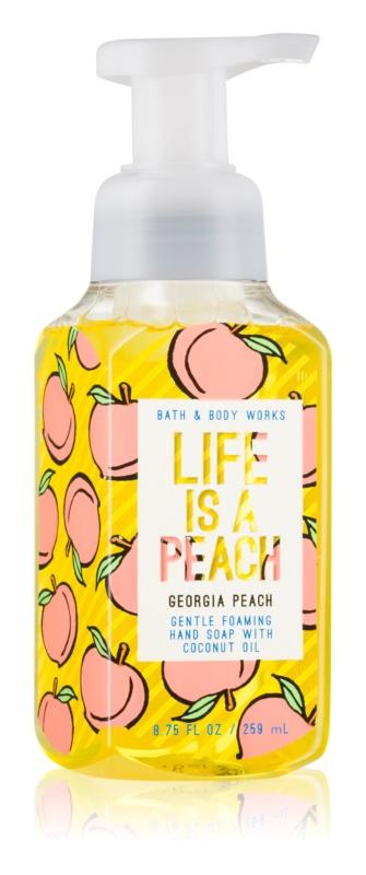 Bath & Body Works Georgia Peach Life is a Peach tekuté mýdlo na ruce