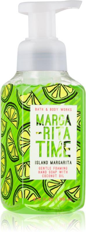 Bath & Body Works Island Margarita Sapun spuma pentru maini