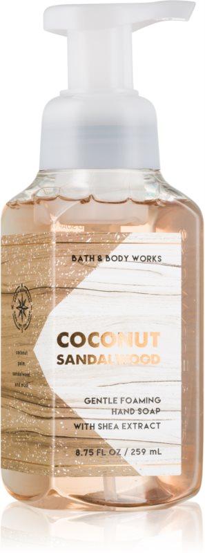 Bath & Body Works Coconut Sandalwood Sapun spuma pentru maini