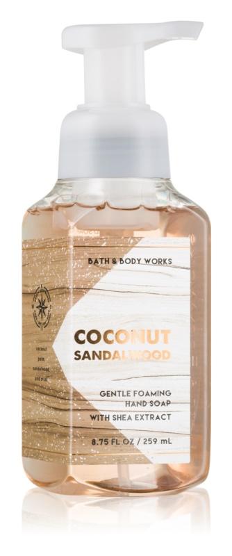 Bath & Body Works Coconut Sandalwood Schaumseife zur Handpflege